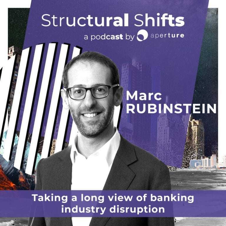 A long view on banking disruption with Marc Rubinstein