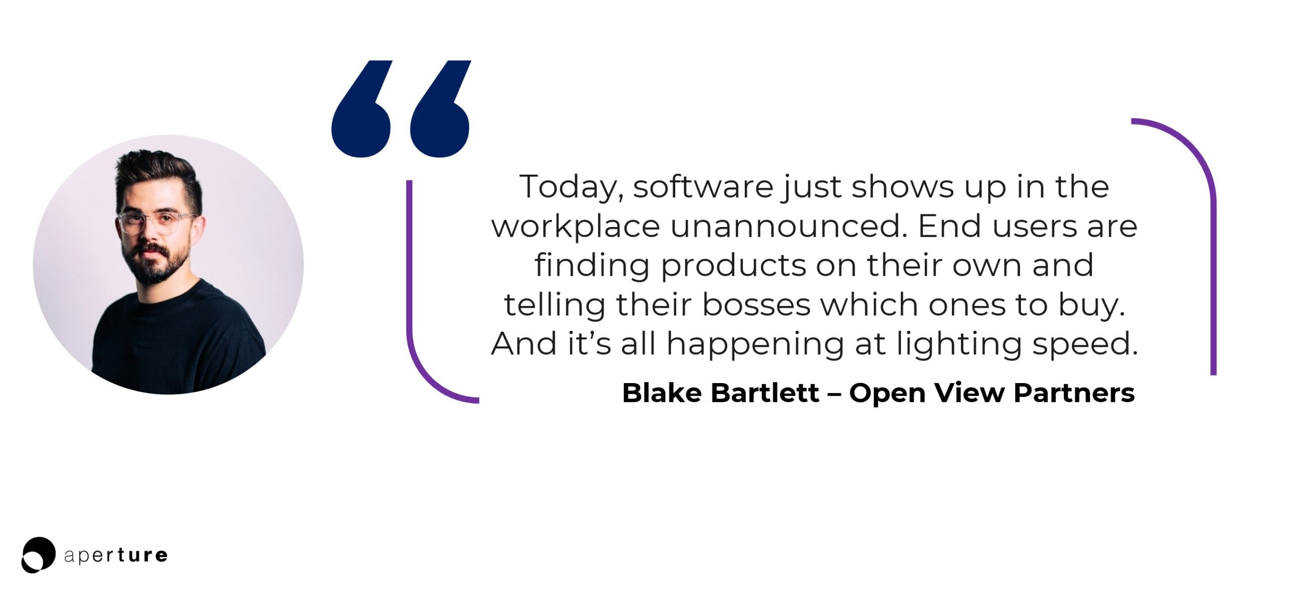 Blake Bartlett OpenView partners quote