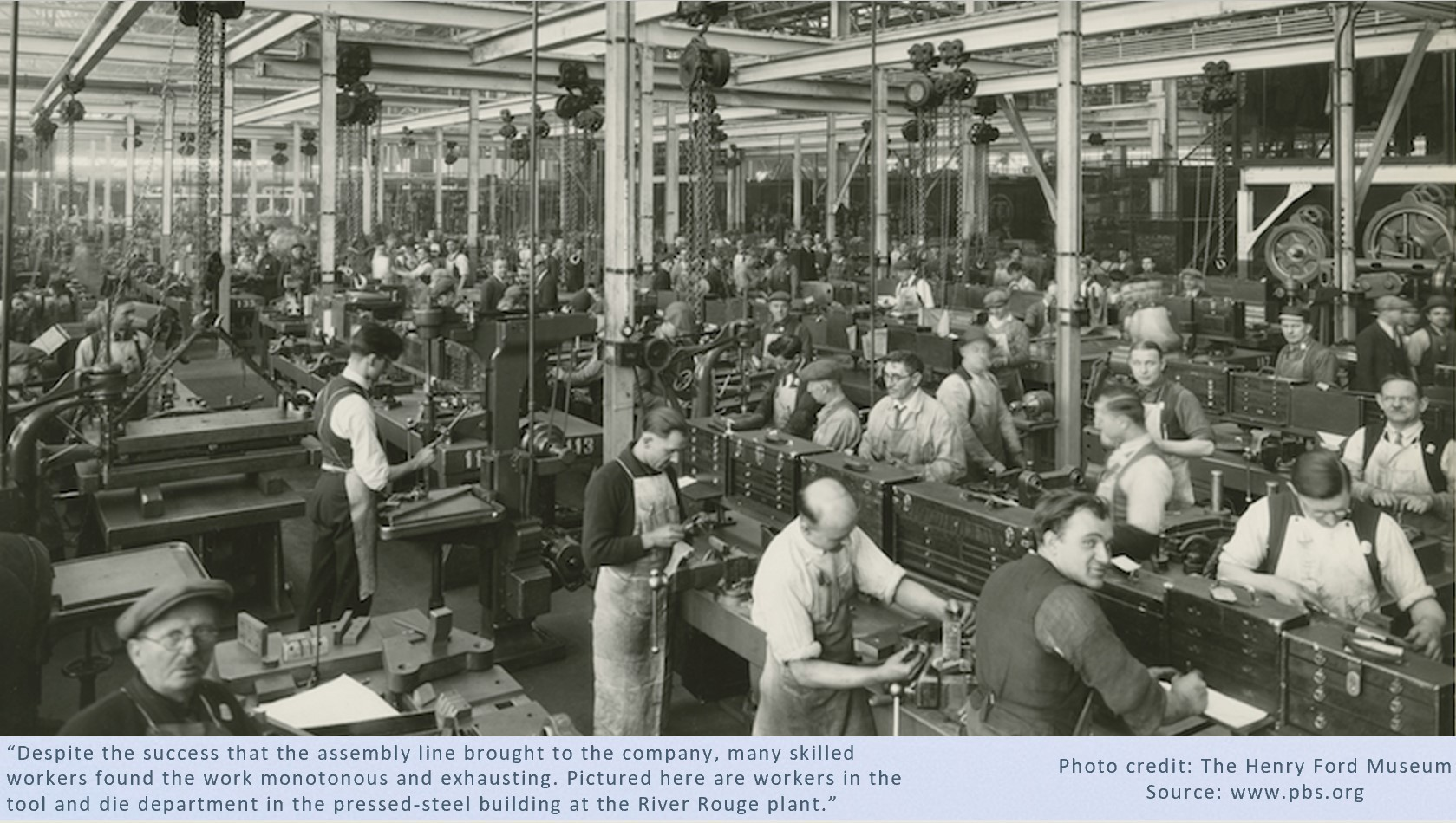 Industrial Work Henry Ford Museum Pic
